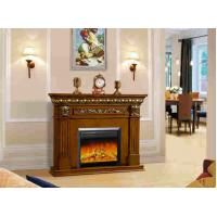 Buy cheap RV Decor Flame Stainless Steel European Electric Fireplace Remote Control from wholesalers