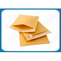 Buy cheap Yellow Kraft Kraft Bubble Mailers Protective Bubble Padded Envelopes 5 × 10 Inch from wholesalers
