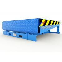 Buy cheap Steel Structure Hydraulic Dock Ramp , Loading Dock Equipment With 300mm Downwards from wholesalers