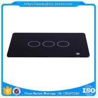 Grinding edge glass panel for wall touch switch with high quality