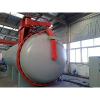 Buy cheap Q345R ASME rubber vulcanization autoclave with Detector of probes and siemens from wholesalers