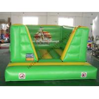 Buy cheap Green Inflatable Castle Bouncer , Advertising Bouncy Castle from wholesalers