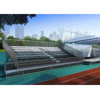 Buy cheap Custom Bleachers Metal Stadium Seats Comfortable Wide For Sports Field from wholesalers