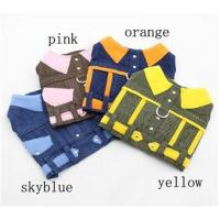 Buy cheap XL , XXS puppy clothes Winter Dog Coats knitted sweaters Colorful from wholesalers
