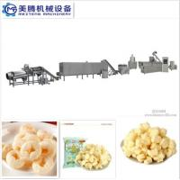 Buy cheap Puff Corn Snack Production Line Puffed core filling food machine Food snack extruder machine from wholesalers