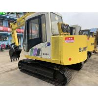 Buy cheap 2003 Year Used Excavator Machine 4200h Hour 6t Mini Sumitomo Sh60 Excavator from wholesalers