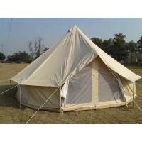 Buy cheap 100% cotton canvas waterproof outdoor camping belltent from wholesalers