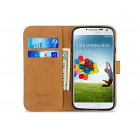 Buy cheap Thinnest Black Samsung Leather Case / Samsung Galaxy S4 Flip Case Waterproof from wholesalers