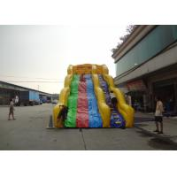 Buy cheap Colorful Wave Commercial Inflatable Slide Repair Kit And Blower from wholesalers