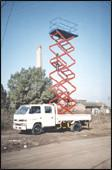 Buy cheap Trailer Mounted Aerial Lifts , Scissor Lift Platform For Building Maintaining from wholesalers