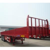 Buy cheap Factory Manufacturer Liangshan CIMC 2 / 3 / 4 Axle Side Board Cargo Semi Truck Trailer from wholesalers
