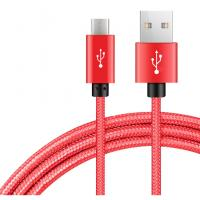 Buy cheap 1m 2m 3m Usb To Micro Usb Charging Cable Copper Nylon Braided Type C Technology from wholesalers