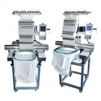Buy cheap Flat Commercial Hat Embroidery Machine Single Head Computer Embroidery Machine from wholesalers