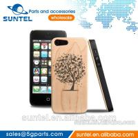 China 2014 Top Qualityfor 100% hard wood case for iphone 5 OEM Mix order 5 choice on sale
