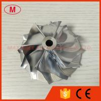 Buy cheap RHG6 60.65/82.05mm 6+6 blades high performance turbo billet/milling/aluminum 2024 compress from wholesalers
