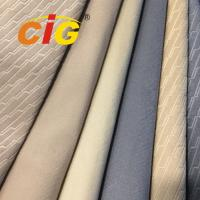 Buy cheap 100% Polyester Velvet / Embossed Auto Upholstery Fabric Waterproof / Anti - Mildew product