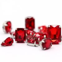 Buy cheap Siam Claw Sew On Rhinestones Mixed Shaping Glass Strass DIY Jewelry Crystal Buckle Droplet Hair Clip Accessories Trims from wholesalers