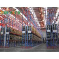 Buy cheap ISO  Storage VNA Racking System , Commercial Automatic Narrow Aisle Pallet Racking from wholesalers