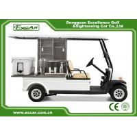 Buy cheap 2 Passenger Electric Food Cart For Park Services With Trojan Battery from wholesalers