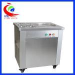 Buy cheap Yogurt Cold Drink Dispenser Fry Ice Machine Make Yogurt Smoothies from wholesalers
