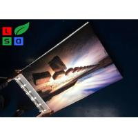 Buy cheap 45mm Ultra Thin Single Sided Backlit Style LED Canvas Light Box For Garment Store Display from wholesalers