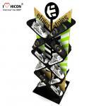 Buy cheap Instore Marketing Custom Metal Display Racks Slippers Display Stand Shoes Displays from wholesalers
