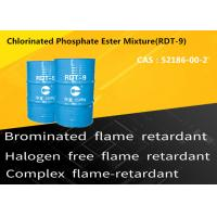 Buy cheap Low Scorch Non Halogenated Flame Retardants Chlorinated Phosphate Ester Mixture CAS 52186-00-2 from wholesalers