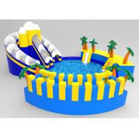 Buy cheap Commercial PVC Blue Coconut Tree Inflatable Floating Water Park For Children from wholesalers