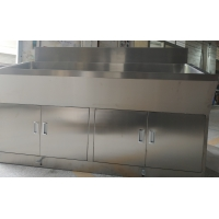 Buy cheap Free Standing Wash Stainless Steel Sink Table C frame from wholesalers