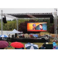 Buy cheap P6 Outdoor LED Video Wall Display Seamless Installation Great Visual For Public from wholesalers