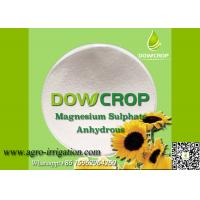 Buy cheap DOWCROP HIGH QUALITY 100% WATER SOLUBLE ANHYDR SULPHATE MAGNESIUM 98.5% WHITE POWDER MICRO NUTRIENTS FERTILIZER from wholesalers