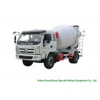 Buy cheap YUEJIN 5m3 Small Concrete Mixer Truck With Pump , 4x2 Mobile Mixer Truck from wholesalers