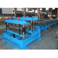 Buy cheap Color Steel Roofing Tile Forming Machine ,  Sheet Metal Forming Machines Double Press Mould from wholesalers