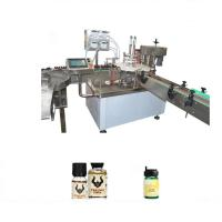 Buy cheap Beverage / Chemical Essential Oil Filling Machine With Color Touch Screen Display from wholesalers