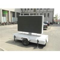 Buy cheap lR1G1B p4.81 Outdoor led mobile digital advertising sign trailer,truck mounted led display from wholesalers