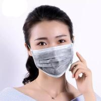 Buy cheap Outside Activated Carbon Dust Mask Odorless Resist Bacteria / Other Microbe product