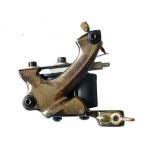 Buy cheap 3V - 6V handmade iron Antifatigue 10 wraps Damascus Steel Tattoo Machine from wholesalers