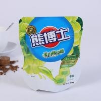 Buy cheap Resealable Biodegradable Stand Up Plastic Bags , Custom Printed Heat Seal Food Bags from wholesalers
