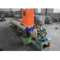 Buy cheap 300MM H - Beam Garage Door Frame Roll Forming Machine Fly Saw Cutting from wholesalers