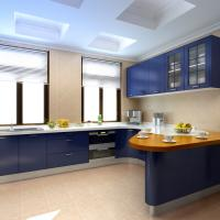 Modern Wood Kitchen Cabinets: Solid Wood Modern Kitchen Cabinets
