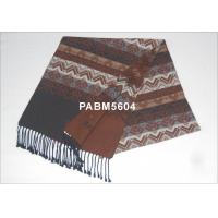 Buy cheap Fringes 100 % Silk Winter Woven Silk Scarf ,Customized Brand And Logo from wholesalers