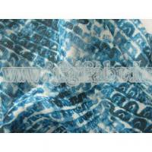Buy cheap 100% Polyester Chiffon Fabric Twisted Crepe Chiffon Printed SF-046 product