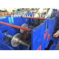 Buy cheap Cable Tray Plank C U Channel Roll Forming Machine Hydraulic Cutter / Punch from wholesalers