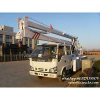 Buy cheap ISUZU aerial platform truck  14`18M   Folding Boom Japanese Aerial Platform Vehicle Customization  WhatsApp:861527135767 from wholesalers
