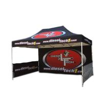 Buy cheap Outdoor Portable Trade Show Canopy Tent Black Coated Iron Frame For Businss Promotion from wholesalers