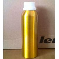 Buy cheap Empty 300ml golden silver aluminium bottle with white caps product