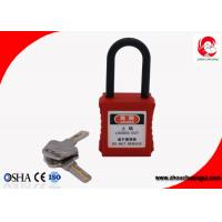 Buy cheap 38mm Nylon Shackle Xenoy Safety Padlock with ABS Lock Body , Electrical Lockout Locks from wholesalers