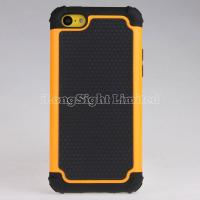 Buy cheap 2013 fashion and new Plastic+Silicone Case For iPhone 5C with Combo Hybrid Rugged Ballistic desgin product