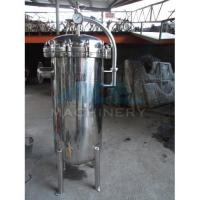 Buy cheap Matt Or Mirror Polishing Surface Bag Filter For Fruit Juice Manufacturer Carbon Steel Painted Bag Water Filter Housing from wholesalers