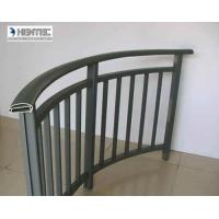 Buy cheap Custom aluminum extrusion 6063 , 6060 T5  For Hand Rail GB 5237-2008 Standard from wholesalers